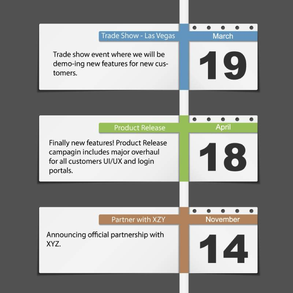content marketing, editorial calendar